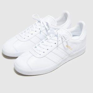Adidas White Gazelle Sneaker